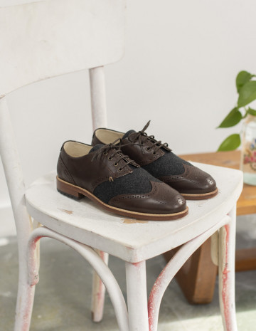 Vintage Monsieur Derbies Louis - Chaussures M.Moustache