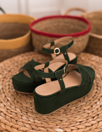 Emma wedge sandals - M.Moustache