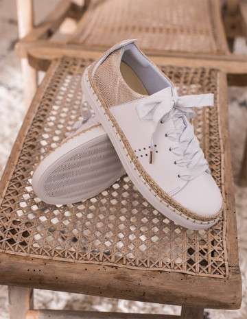 Renée Espadrille Sneakers - M.Moustache Shoes