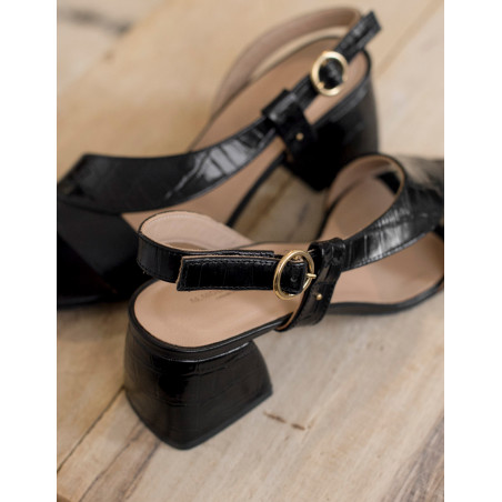 Delphine heeled sandals - M.Moustache Shoes