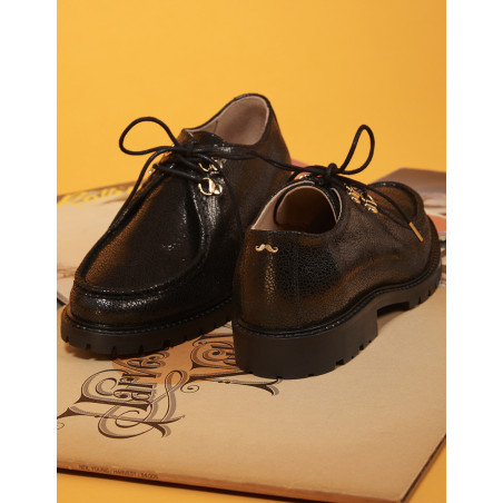 Caroline Derbies - M.Moustache Shoes
