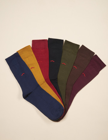 Weekly socks pack - M.Moustache Shoes