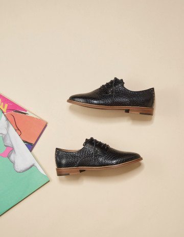 Laurette Derbies - M.Moustache Shoes