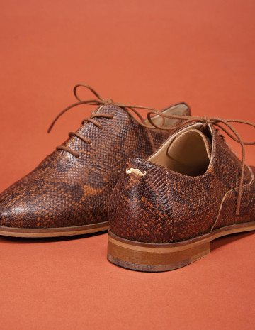 Sidonie Derbies - M.Moustache Shoes