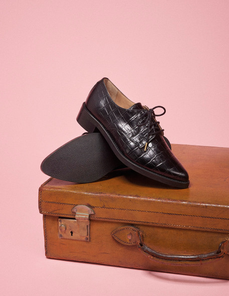 Sixtine Derbies - M.Moustache Shoes