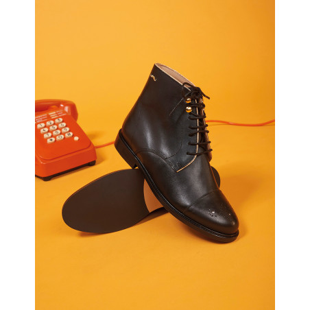 Madame Bottines Lucienne - Chaussures M.Moustache