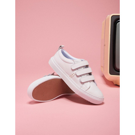 Brigitte velcro sneakers - M.Moustache Shoes