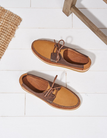 Georges boat shoes - M.Moustache Shoes