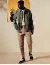 M.M x Hast Jacket - M.Moustache Shoes