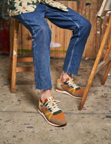 André running sneakers - M.Moustache Shoes