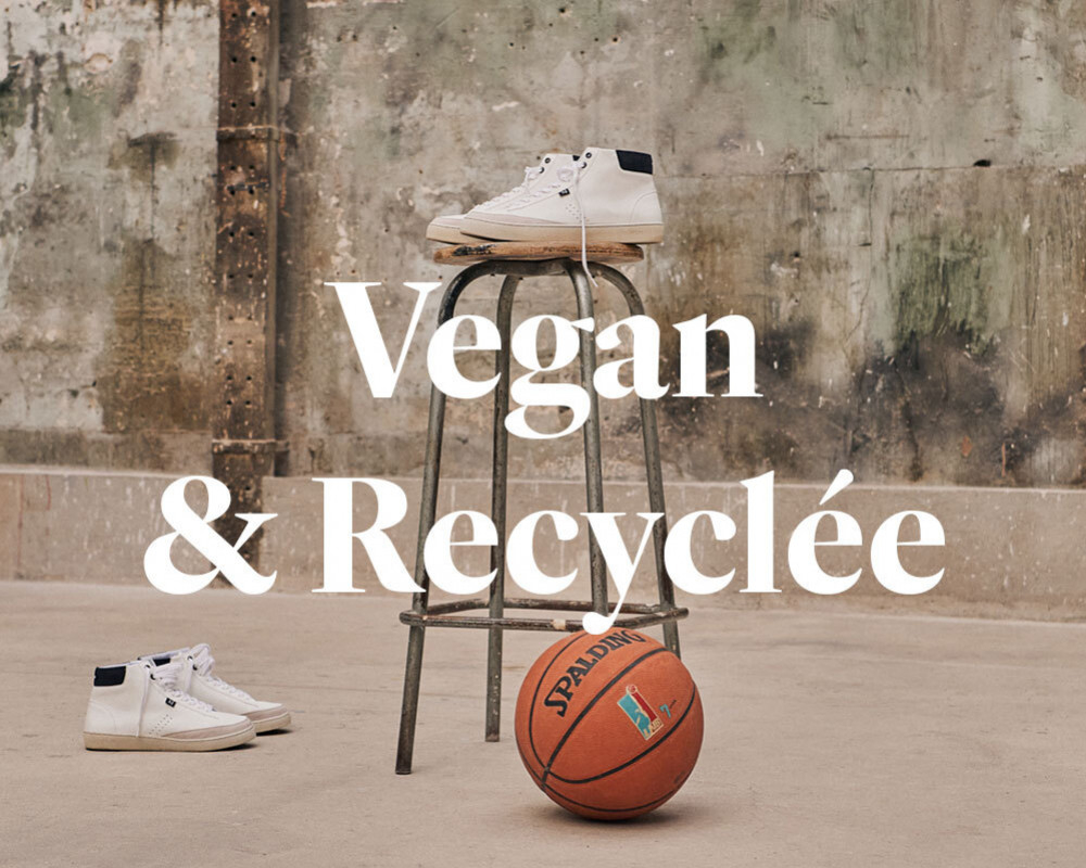 Alexis/a, our first vegan and recycled sneaker